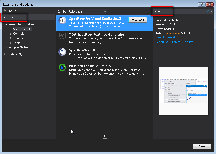 Setting up a Visual Studio project for testing with NUnit and ...
